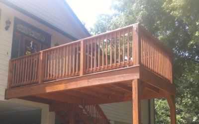 Wood and Composite Deck Construction Central Texas